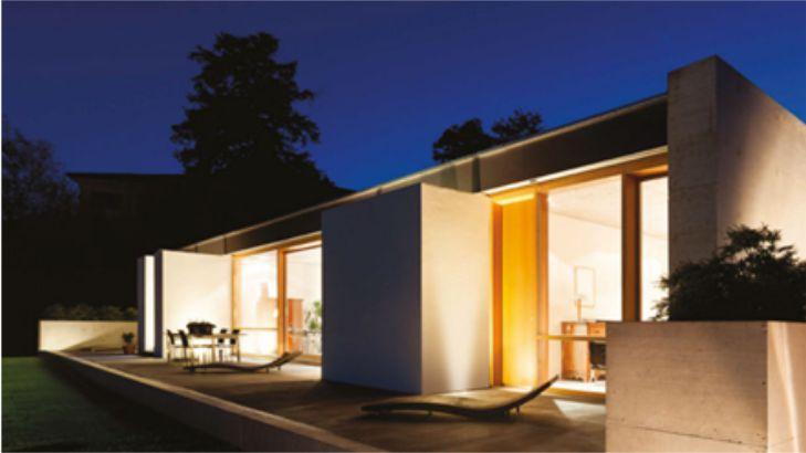 empotrados de suelo para iluminación exterior vivienda unifamiliar