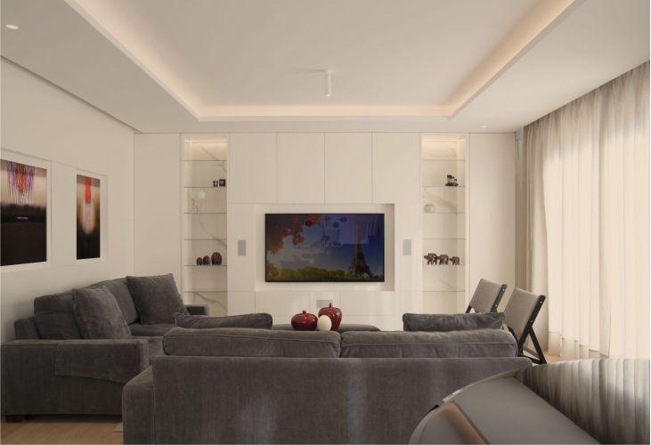 luz perimetral en iluminación de vivienda unifamiliar