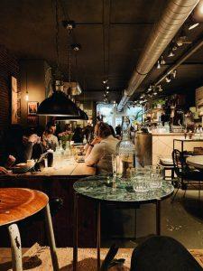 Iluminación ambientes restaurantes