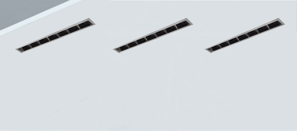 luminaria lineal empotrada UGR