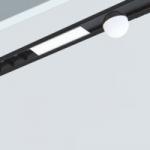 Sistema empotrado Lineal para incorporar diferentes luminarias Multy Sistem